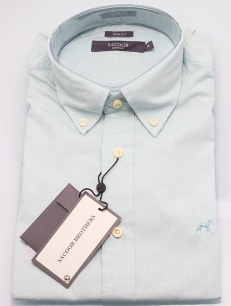 Sacoor-Brothers-Mens-Slim-FIt-Shirt-Light-Green-450×597